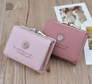 Small Women Leather Wallet