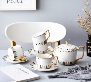 European Luxurious Ceramic tea set