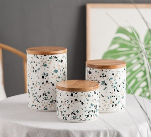 Ceramic Food Storage Jar